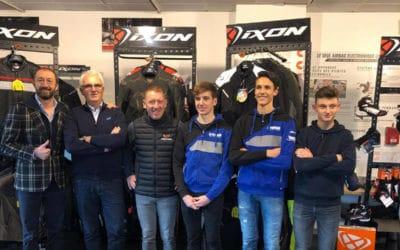 Le team FT Racing Academy habillé et protégé par IXON